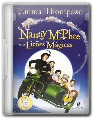 Capa do Filme Nanny McPhee e as Lições Mágicas