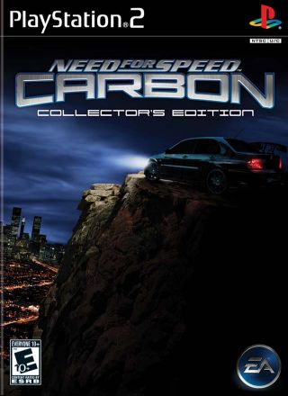 Capa Jogo Need for Speed Carbon PS2