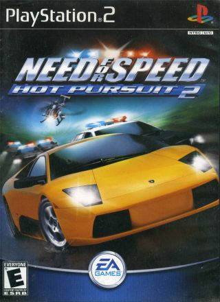 Capa Jogo Need for Speed Hot Pursuit 2 PS2