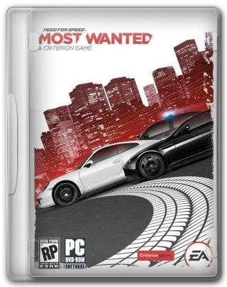 Capa Jogo Need For Speed Most Wanted 2012 PC