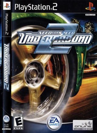 Capa Jogo Need for Speed Underground 2 PS2