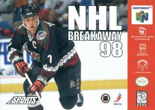 NHL Breakaway 98 USA