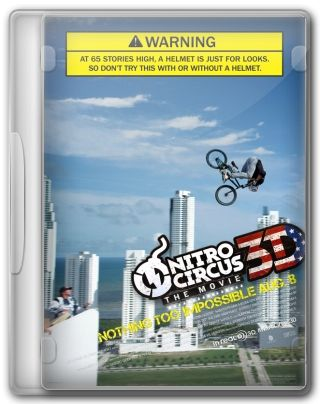 Capa do Filme Nitro Circus: The Movie
