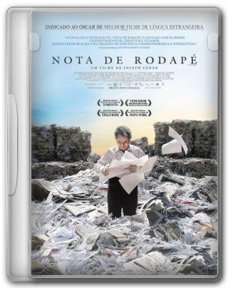 Capa do Filme Nota de Rodapé