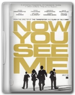 Capa do Filme Now You See Me