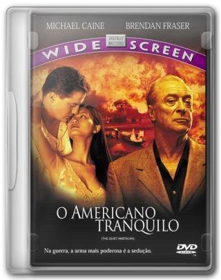 Capa do Filme O Americano Tranqüilo