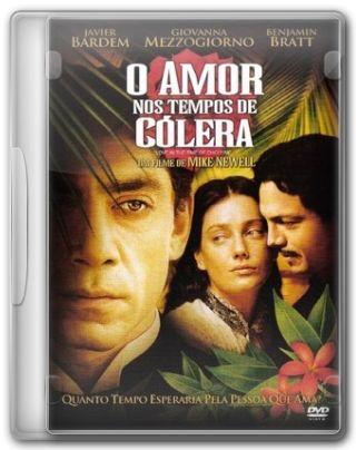 Capa do Filme O Amor nos Tempos do Cólera