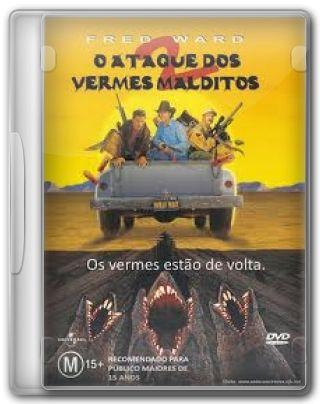 Capa do Filme O Ataque dos Vermes Malditos 2