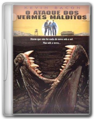 Capa do Filme O Ataque dos Vermes Malditos