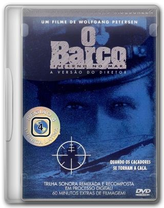 Capa do Filme O Barco Inferno no Mar