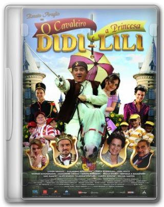 Capa do Filme O Cavaleiro Didi e a Princesa Lili