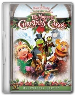 Capa do Filme O Conto de Natal dos Muppets