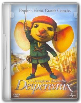 Capa do Filme O Corajoso Ratinho Despereaux