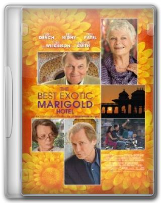 Capa do Filme The Best Exotic Marigold Hotel