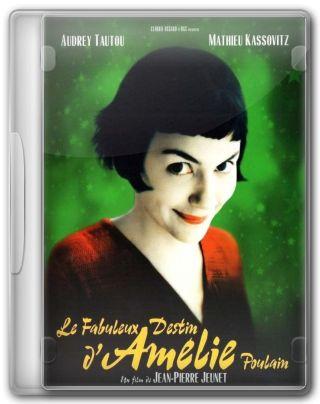 Capa do Filme O Fabuloso Destino de Amélie Poulain
