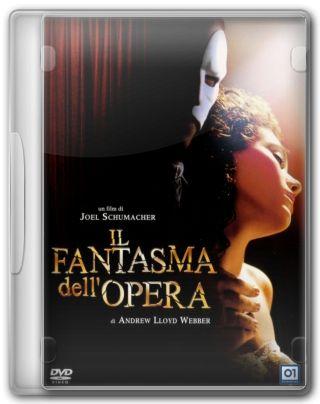 Capa do Filme O Fantasma da Ópera