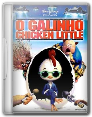 Capa do Filme O Galinho Chicken Little