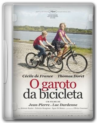 Capa do Filme O Garoto da Bicicleta