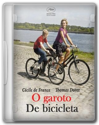 Capa do Filme O Garoto de Bicicleta