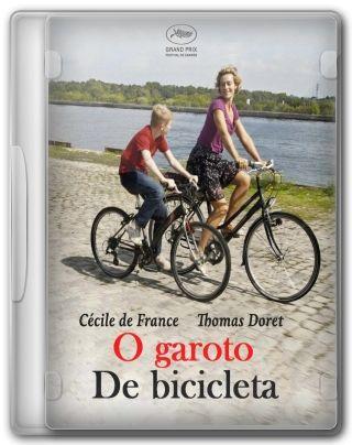 Capa do Filme O Garoto de Bicicleta