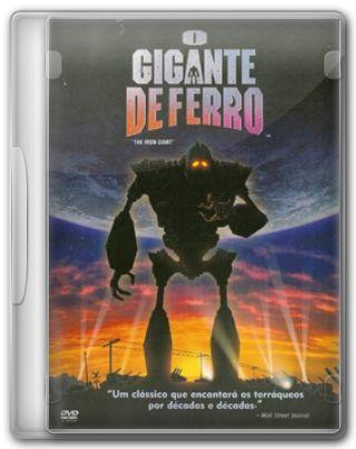Capa do Filme O Gigante de Ferro