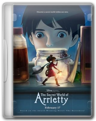 Capa do Filme O Mundo Secreto de Arrietty