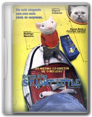 Capa do Filme O Pequeno Stuart Little