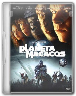 Capa do Filme O Planeta dos Macacos
