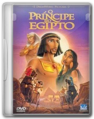 Capa do Filme O Príncipe do Egito