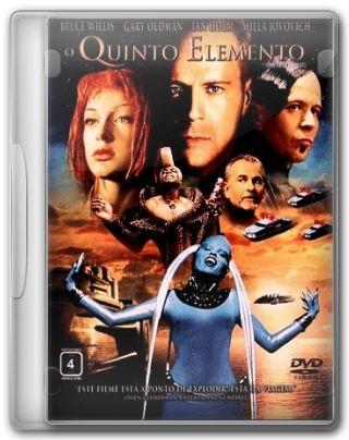 Capa do Filme O Quinto Elemento