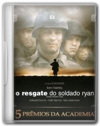 Capa do Filme O Resgate do Soldado Ryan