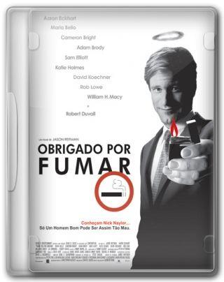Capa do Filme Obrigado por Fumar
