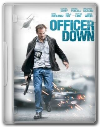 Capa do Filme Officer Down
