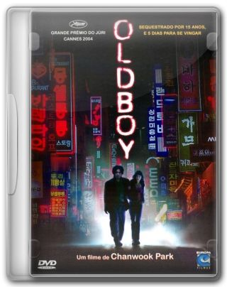 Capa do Filme Oldboy
