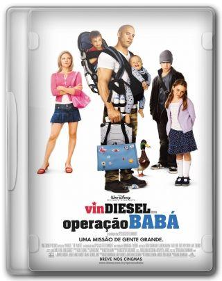 Capa do Filme Operação Babá