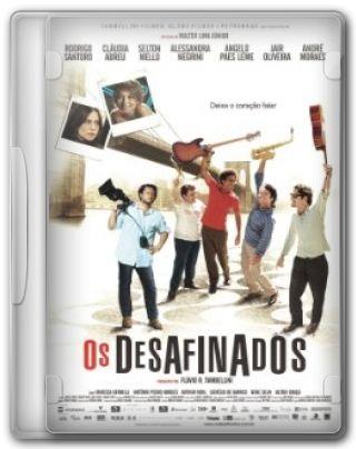 Capa do Filme Os Desafinados