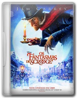 Capa do Filme Os Fantasmas de Scrooge