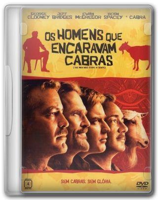 Capa do Filme Os Homens que Encaravam Cabras