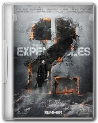 Capa do Filme The Expendables 2