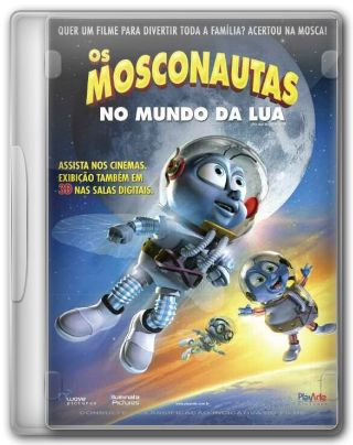 Capa do Filme Os Mosconautas no Mundo da Lua