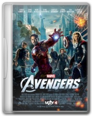 Capa do Filme The Avengers