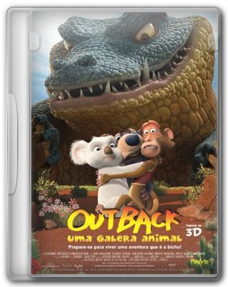 Capa do Filme Outback Uma Galera Animal