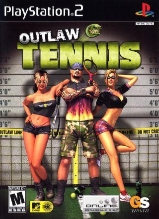 Capa Jogo Outlaw Tennis PS2