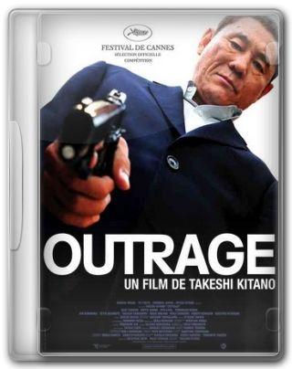 Capa do Filme Outrage