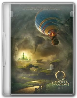 Capa do Filme Oz: Mágico e Poderoso
