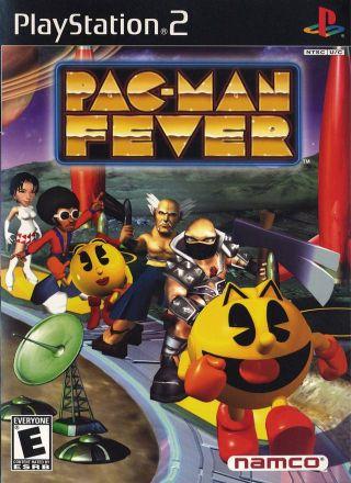 Capa Jogo Pac-Man Fever PS2