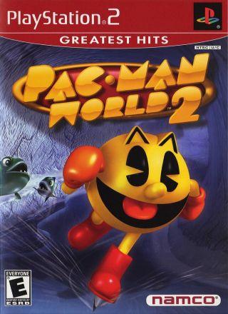 Capa Jogo Pac-Man World 2 PS2