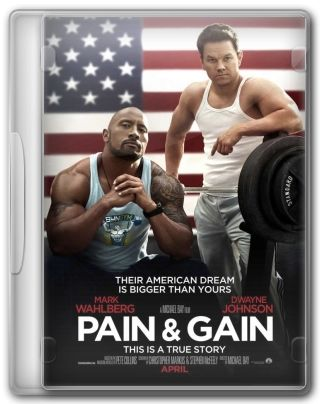Capa do Filme Pain & Gain