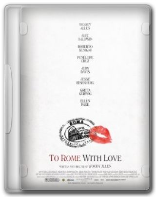 Capa do Filme To Rome with Love