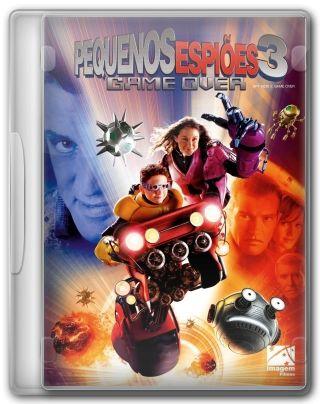 Capa do Filme Pequenos Espiões 3-D - Game Over